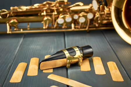 There are special mouthpieces, reeds and ligatures for the soprano saxophone.